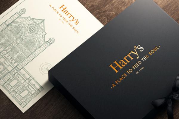 Harry's Restaurant Exeter Gift Voucher